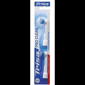 Trisa kit de remplacement Pro Clean Flexible Duo (2 pièces)