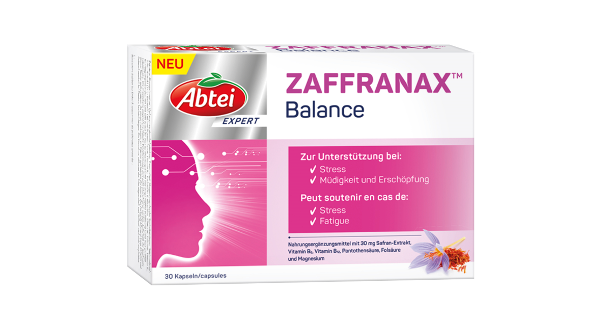 Abtei Zaffranax Balance (30 Stk)
