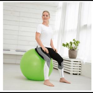 Sissel Securemax gymnastics ball 65 cm (lime, green)