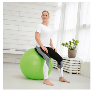 Sissel Securemax Gymnastik Ball 65 cm (lime, grün)