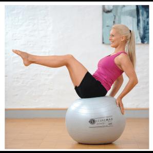 Sissel Securemax gymnastics ball 75 cm (silver)