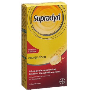 Supradyn energy iron effervescent tablets (30 pcs)