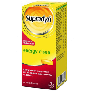 Supradyn Energy Iron film-coated tablets (60 pcs)