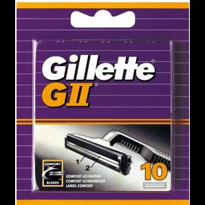 Gillette G II Ersatzklingen (10 Stk)