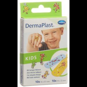 DermaPlast Kids Plasters 2 Sizes (20 pcs)