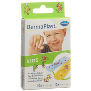 DermaPlast Kids Plasters 2 Sizes (20pcs)