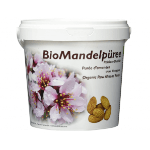 soyana organic almond puree in raw food quality (1kg)