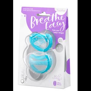 Curaprox Baby Schnuller Gr.0 blau Doppelpack (2 Stk)
