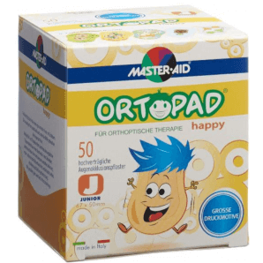 ORTOPAD Happy Occlusion Plaster Junior 67x50 mm (50 pieces)