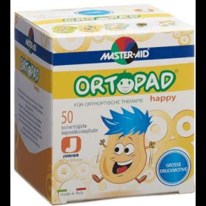 ORTOPAD Happy Occlusionspflaster Junior 67x50 mm (50 Stk)