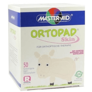 ORTOPAD Happy Occlusion Plaster Junior Skin 67x50 mm (50 pieces)