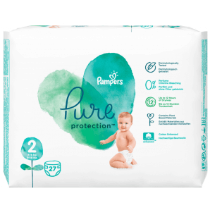 Pampers Pure Protection Diapers Gr. 2 (27 pieces)