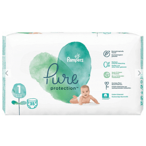 Pampers Pure Protection Diapers Gr. 1 (35 pieces)