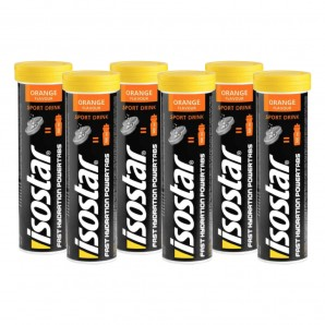 isostar Powertabs Orange (6x120g)
