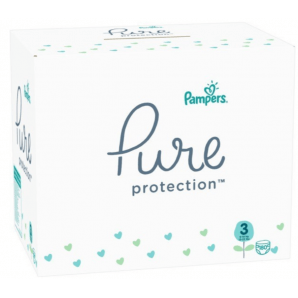 Pampers Pure Protection Windeln Gr. 3 (180 Stk)