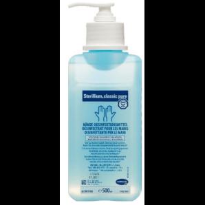 Sterillium classic pure hand disinfectant with pump (500ml)