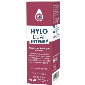 Hylo Dual intense eye drops (10ml)