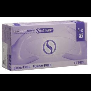 Sempercare Nitril Skin Handschuhe Grösse XS, blau, puderfrei (200 Stk)