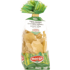 morga ISSRO Low Sugar Ginger Slices (200g)