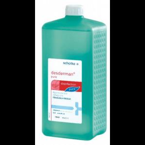 Desderman pure hand disinfectant euro bottle (1000ml)