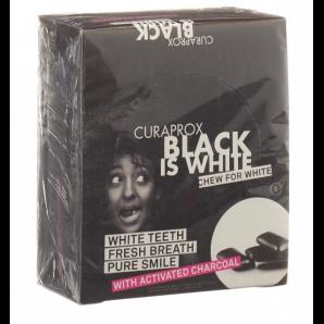 Curaprox Black is White Kaugummi Blister Display (12x12 Stk)