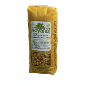 soyana dumplings organic soya meat, natural color (200g)