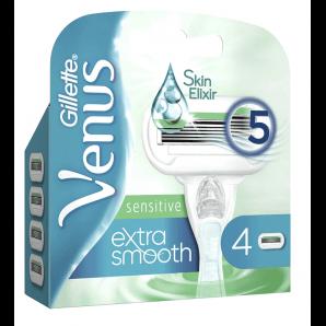 Gillette Venus sensibles lames extra-lisses (4 pièces)