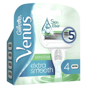 Gillette Venus sensitive extra smooth blades (4 pcs)