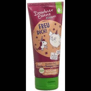 Dresdner Essenz Dreckspatz Children's Shower Gel Freu Dich (200ml)