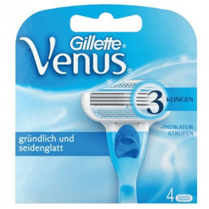 Gillette Venus replacement blades (4 pcs)