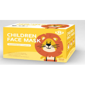 Disposable medical face mask for children (50 pcs)