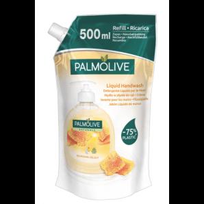 PALMOLIVE liquid soap milk & honey refill (500ml)