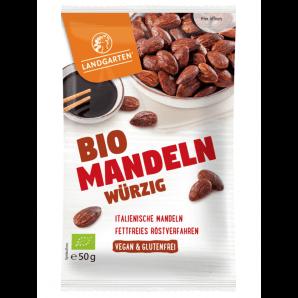 LANDGARTEN Bio Mandeln würzig (50g)