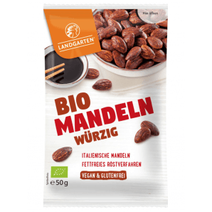 LANDGARTEN organic almonds spicy (50g)